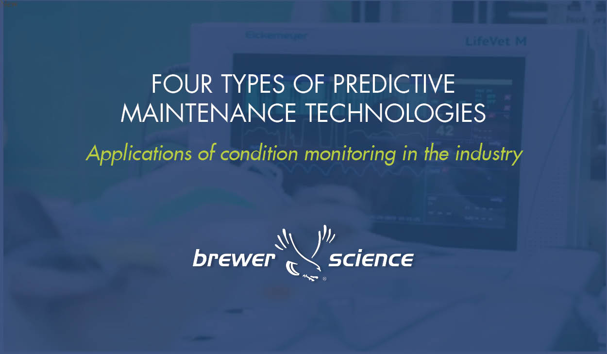 Four Types of Predictive Maintenance Technologies