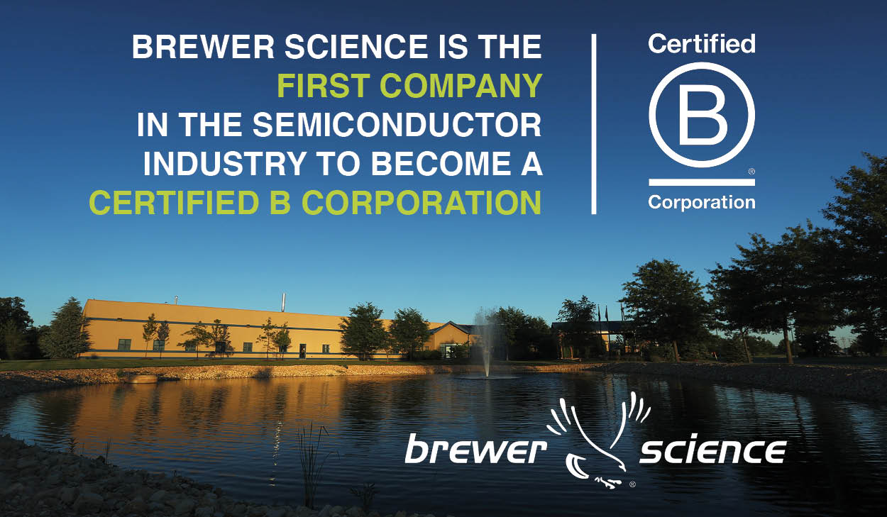 Brewer Science's Bold Journey to Certified B Corporation