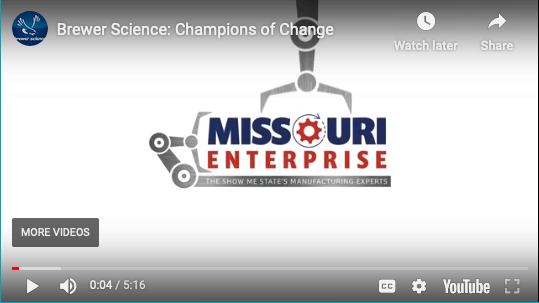 Missouri Enterprise recognizes Brewer Science as a Champion of Change